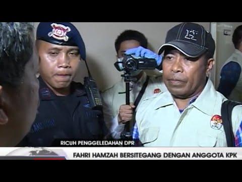 Ketegangan Fahri Hamzah Saat Adu Mulut Dengan Penyidik KPK Yang Menggeledah Ruangan DPR.