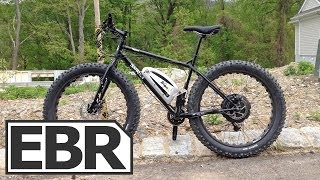 Surly Pugsley with BionX Kit Video Review - Fat Tire Bike with 350 Watt Electric Bike Kit