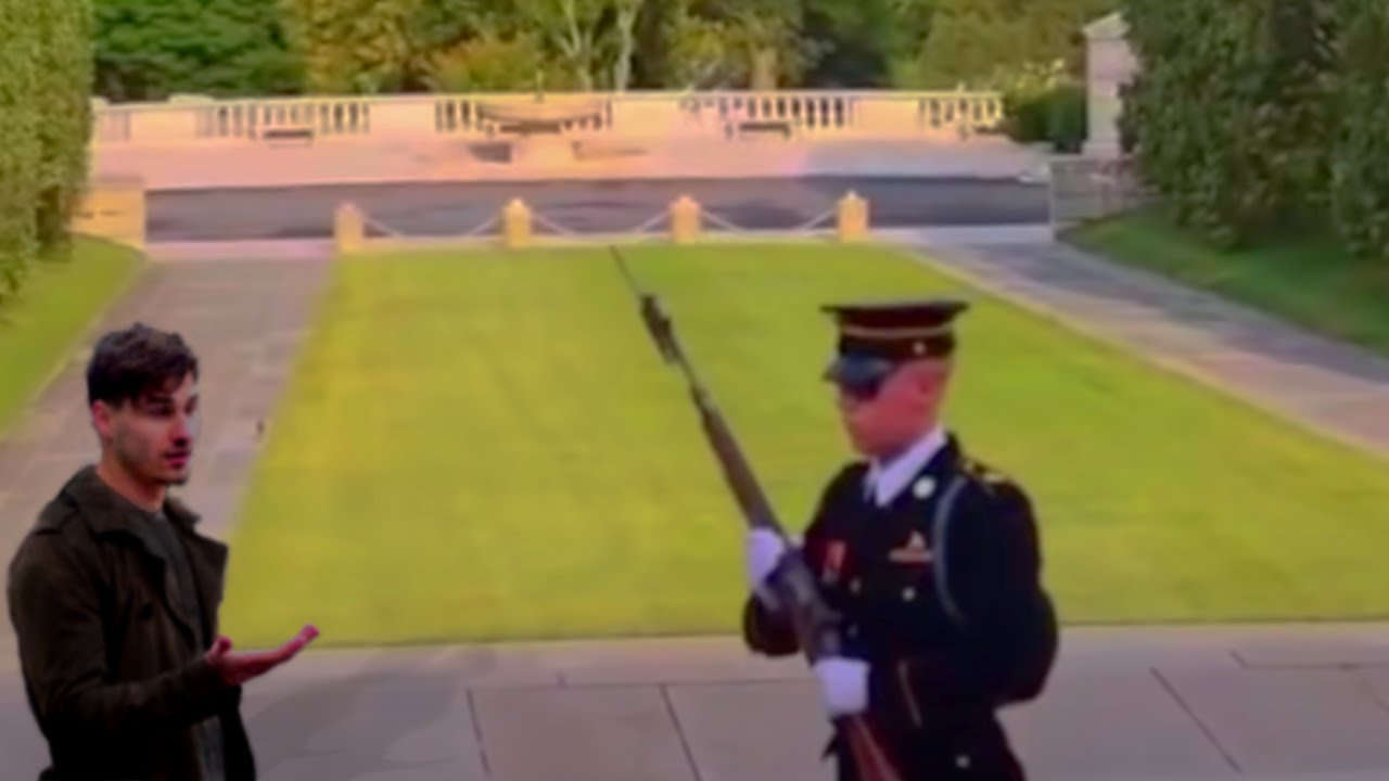 Download Why You Never Mess With A Guard Of The Tomb Of The Unknown Soldier