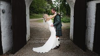 Dougal & Gillian // Wedding Highlights // Logie Country House