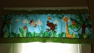 How To Make A Valance Out Of A Crib Bumper