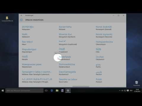 Windows 10: Sprache Auf Türkisch ändern