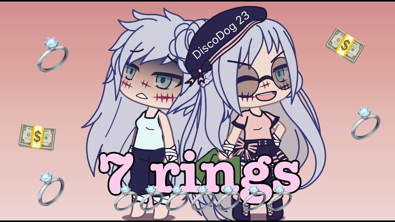 7 RINGS - Ariana Grande [GACHALIFE] image
