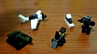LEGO СаМоДеЛкИ №8 мини-танк,поезд,робот...(LEGO (самоделка), 2016-02-10T23:43:22.000Z)