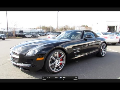 2012 Mercedes-Benz SLS AMG Roadster Start Up, Exhaust, and In Depth Tour