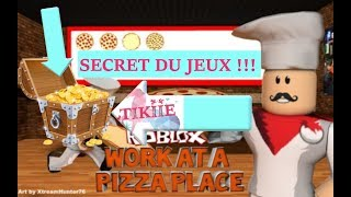 SECRET DU JEUX !! Lavorare in una pizza place / ROBLOX FR