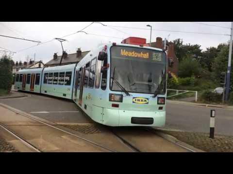Sheffield Supertram, December 2017 - YouTube