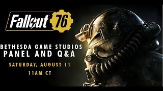 QuakeCon 2018 | Fallout 76 and Fan Q&A