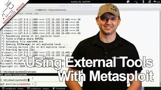 Using External Tools With Metasploit - Metasploit Minute