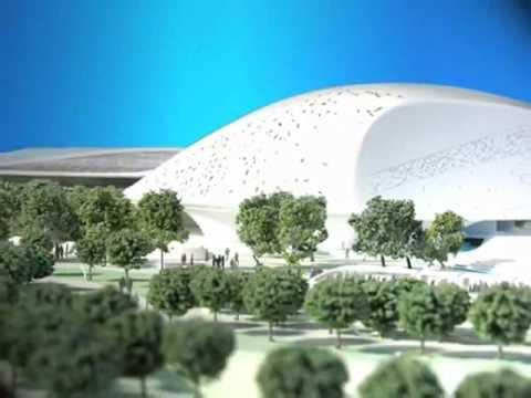 University in Doha Scale Model | Maqueta Doha.wmv