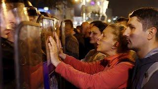 Macédoine: emeute contre l'amnistie de responsables politiques