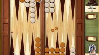 Hoyle Board Games 2005: Backgammon Tutorial