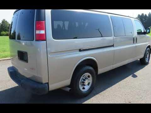 15 Passenger Vans For Sale >> 2003 Gmc Savana 3500 Extended 15 Passenger Van For Sale In Manassas Va