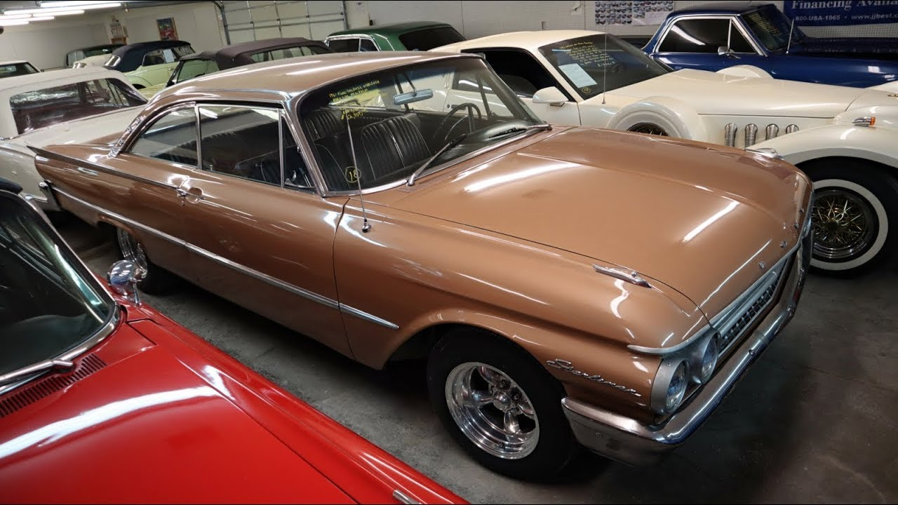1961 ford galaxie starliner 390 v8 tri power four speed at country classic cars youtube. Black Bedroom Furniture Sets. Home Design Ideas