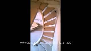видео Лестница на тетивах из бетона