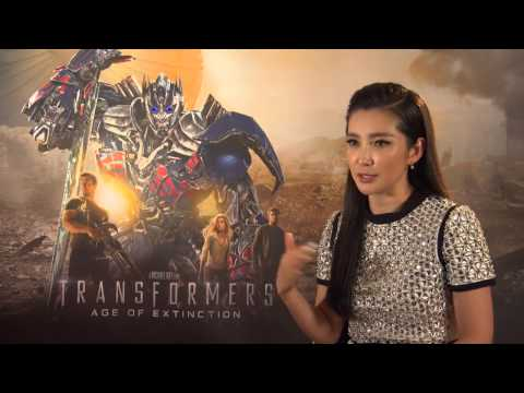 Li Bingbing Interview - Transformers: Age of Extinction