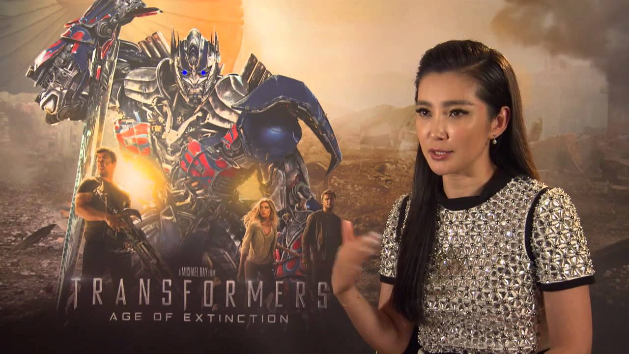Li Bingbing Interview - Transformers: Age of Extinction - YouTube