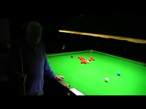 This Snooker Aiming Method is Weird, But Does It Work