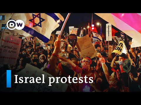 Protesters in Israel demand PM Netanyahu resign | DW News