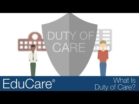 What is Duty of Care?