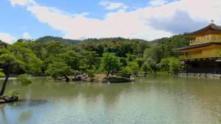 """金閣寺 Kinkakuji """"Temple of the Golden Pavilion"""" in 4K"""
