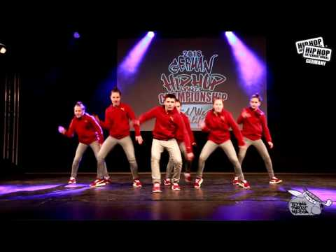 Next Level - German Hip Hop Dance Championship 2016 Süd/West Qualifier