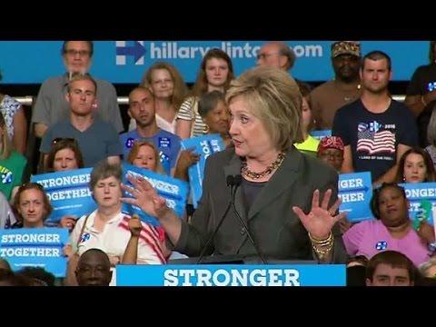 Hillary Clinton responds to Donald Trump's attacks
