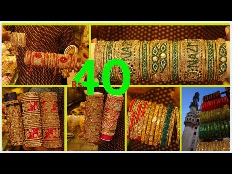 Charminar Bangle Market, Retail Price | Special Bridal Bangl