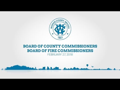 Board of County Commissioners & Board of Fire Commissioners - Concurrent Meeting | February 27, 2018