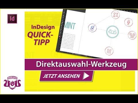 Direktauswahl-Werkzeug // InDesign QUICK-TIPP