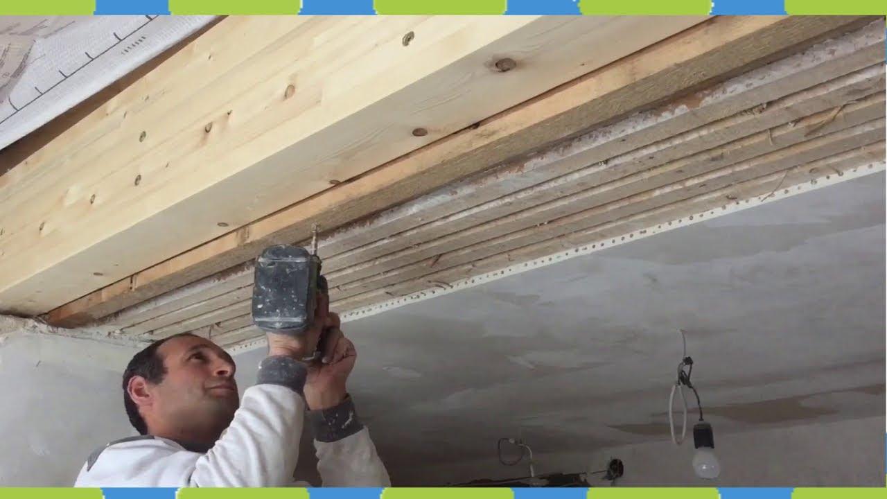 Altbaurenovierung mit Gipskartonplatten Fachwerk - YouTube