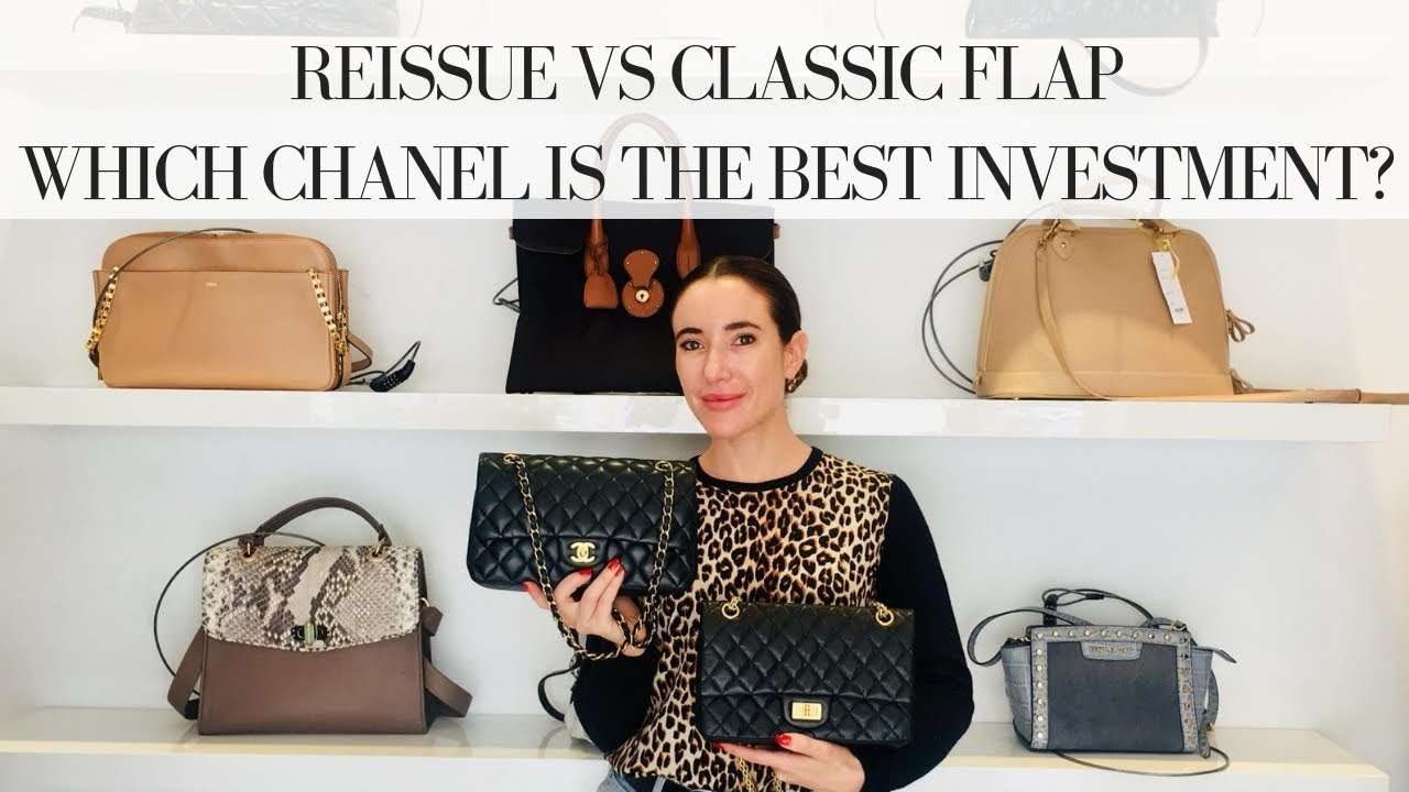 75307072755d4c CHANEL CLASSIC vs REISSUE FLAP: Which is the best investment? - YouTube