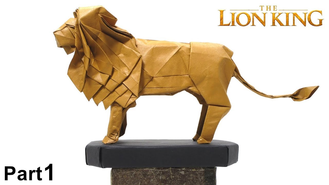 Easy Origami Lion Folding Instructions | Origami Instruction | 720x1280