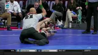 Spencer Lee pins Nathan Tomasello NCAA semifinals