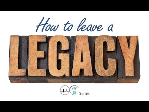How To Leave A Legacy | Pastor Tom Griffiths