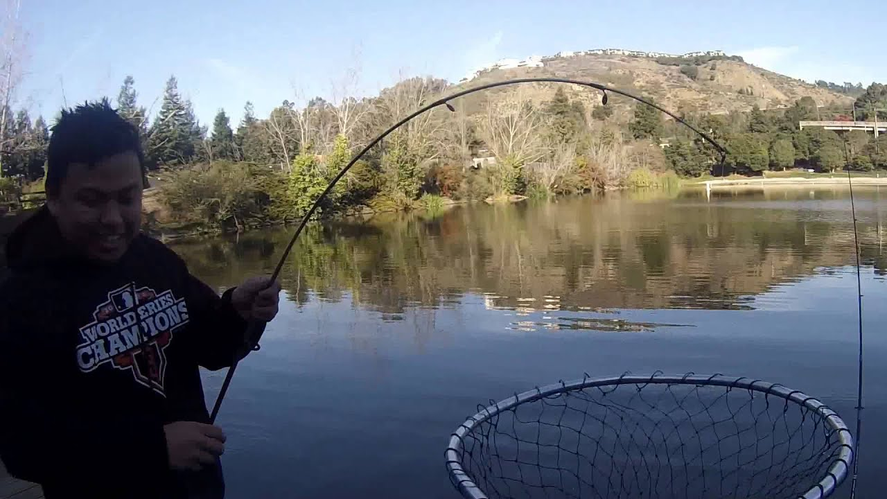 fishing at lake temescal youtube