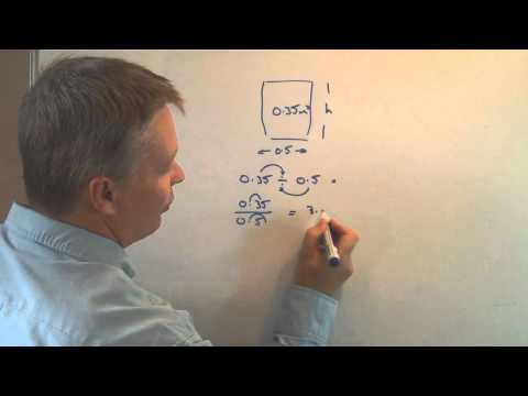 How to divide decimals by decimals