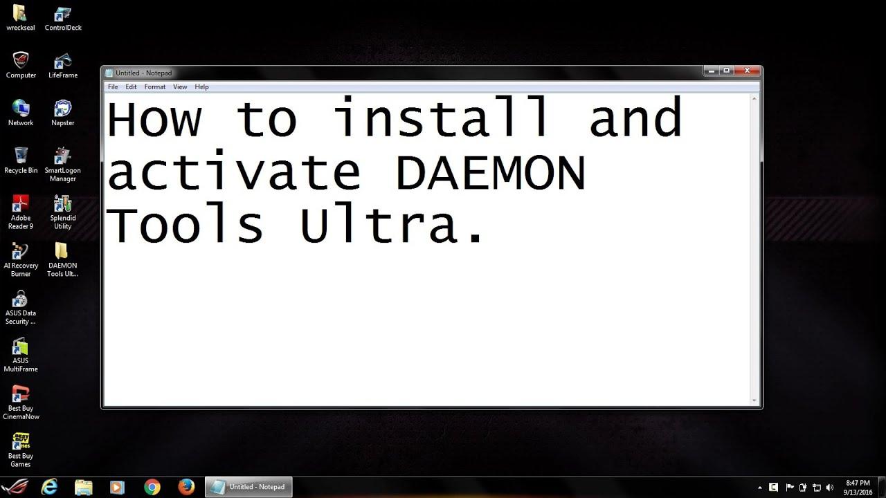 daemon tools ultra registration key