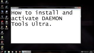 How to install and activate DAEMON Tools Ultra 4