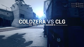 ESL Pro League Season 5 week 10: Coldzera vs CLG