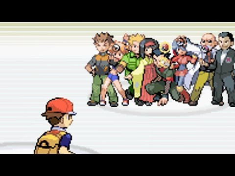 All Gym Battles!! [Pokemon LeafGreen]