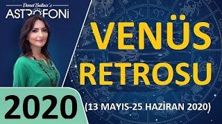 2020 ? VENÜS Retrosu da Geliyor! (Corona virüs) Demet Baltacı ile Astroloji.