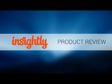 Insightly CRM Demo
