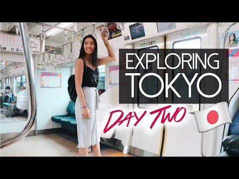 EXPLORING SHIBUYA + SHINJUKU!  | Tokyo Day 2
