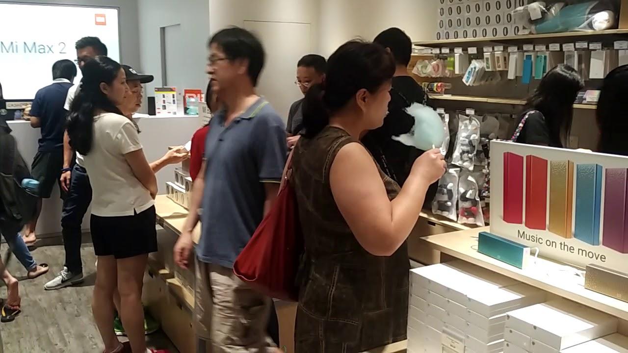 Mi home store singapore 1st anniversary suntec city youtube