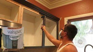 Como pintar gabinetes de cocina (1 de 2) - how to paint kitchen cabinets