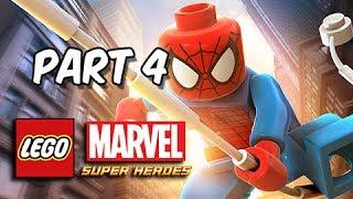 LEGO Marvel Super Heroes Gameplay Walkthrough - Part 4 Times Square Off (Let