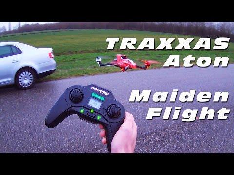 DutchRC - Traxxas Aton RTF Brushless Quadcopter - Maiden Flight! :)