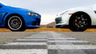 Lancer Evo vs. Nissan GT-R | Edmunds.com