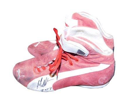 Introduction To Sports Memorabilia-Matt Halliday/Daniel Gaunt Race-Worn Shoes